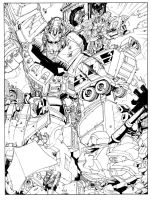 Energon VS Generation One by TheBoo