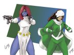Mystique and Rogue prints by TeamAmazing