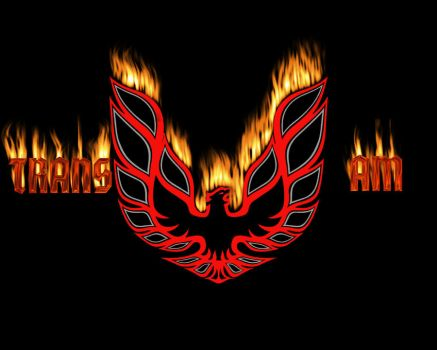 Fiery Trans Am Logo by joshepi2010