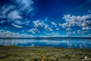 Blue Sky's Blue Water HDR by mjohanson