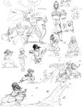 Zhao, Toph, sketches studies by rufftoon