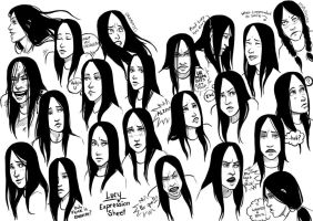 Expressions of Lucy by MelissaDalton