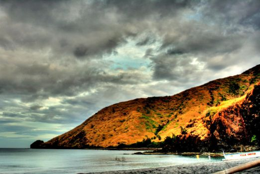 Anawangin Cove in HDR by sickxela