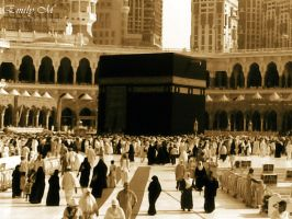 The Holy Kabaa by 7iss-fini