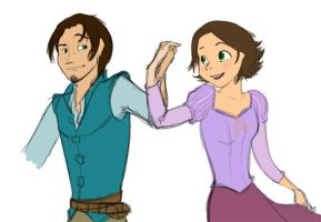 Tangled by mewgal