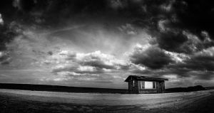 Somewhere BW by lomax-fx