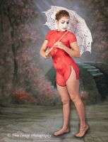 Red Kimono by fineimagephotography