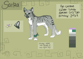 Sarka Refrence Sheet 2013 by oOBouncingheartOo