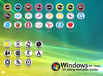 Windows Metallic Icons by MDGraphs
