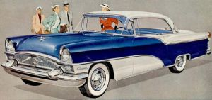 age of chrome and fins : 1955 Packard by Peterhoff3