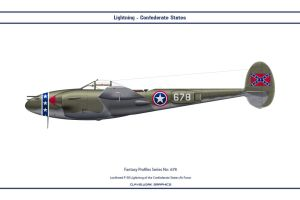 Fantasy 678 P-38J Confederate States by WS-Clave