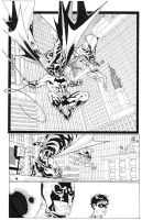 BATMAN and Robin inks by timothygreenII