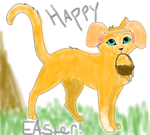 Happy Easter! (From Fireheart) by XxFireheartofDCxX