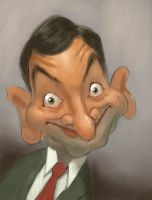 Mr. Bean by MarcoBucci