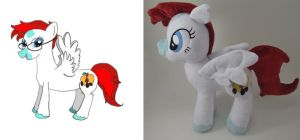 Kerler Berry OC Plushie by Brainbread