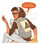 Hipster Harry by batcii