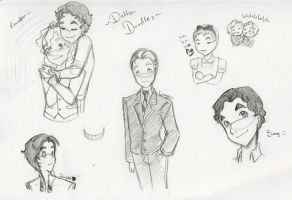 Dalton Doodles: Various by everyday-dream