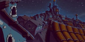 Fantasy City Roofs by StMan