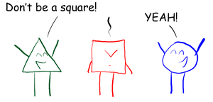 dnt be a square by CrazyRonn