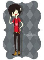Marshall Lee by BawuuKirkland