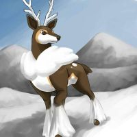 Sawsbuck by Eeriah