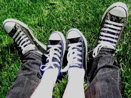 CHUCKS+chucks by boyoneder