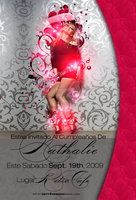 Nathalie Birthday flyer by DeityDesignz