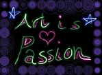 Art Is A Passion by COURTishLamb92