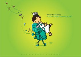 Back to school by SaraALMukhaini