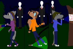 Slender by 24Wolfy42