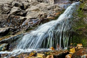 Little Waterfall by Moohoodles