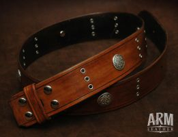 Kilt Belt by Blackthornleather