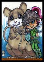 Sketch Card-A-Day 2013: 030 by lordmesa
