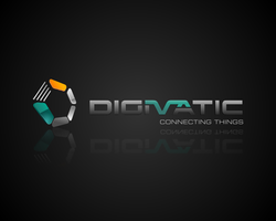 Digimatic 3d logo proposal by ntgladia