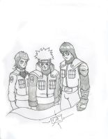 my Naruto team by DominicanFlavor