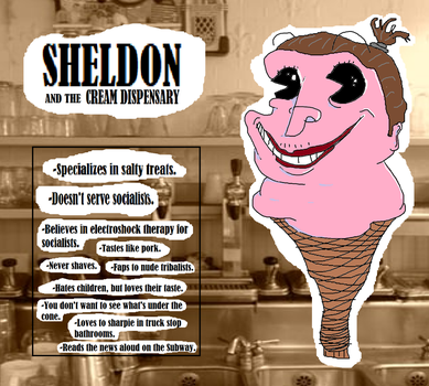 Sheldon And The Cream Dispensary (NEW OC) by sonictheturtle657