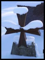 Snow Cross by DarkDollArt