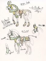 ParisAmour7 Tack Commission by LittleToyDragon