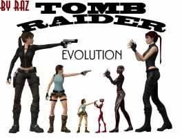 TOMB RAIDER EVOLUTION by RazKurdt