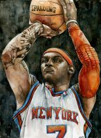 Carmelo Anthony by MichaelPattison