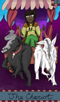 7 The Chariot Tarot by Fevley