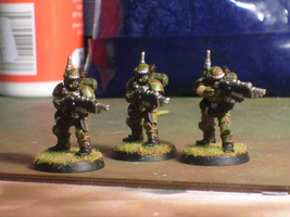 4th Cadian Kasrkin's by TheFamousEccles