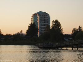 High Rise By The Lake by Adaera
