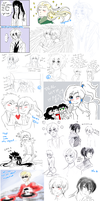 Tumblr things yet again cuz I doodle a lot by BlackMayo