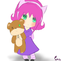 League of Legends: Annie and Tibbers by TheMuteMagician
