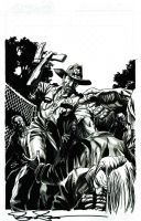 Walking Dead Euro Tour commission by stevescott