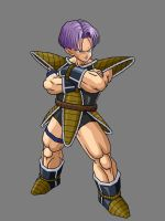 Trunks Armor By KingCrackRock by kingcrackrock