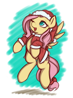 Hearths Warming Fluttershy by TheParagon
