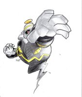 Dusknoir...FINALLY by BrightObject