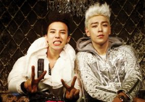 G-D and T.O.P HighHigh 3 by bloodplusrocks